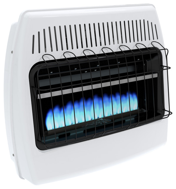 Dyna-Glo 30,000 Btu Natural Gas Blue Flame Vent Free Wall Heater.