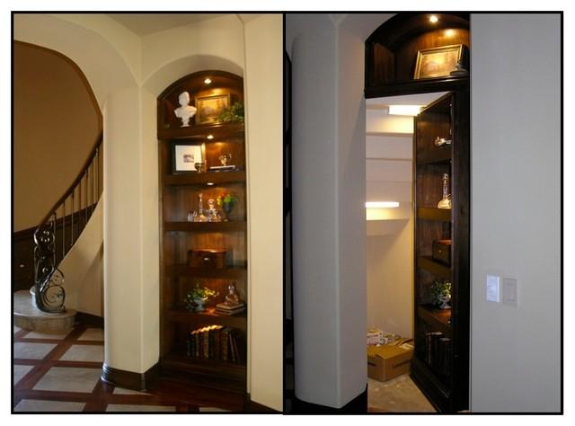 Under Staircase Hidden Storage room