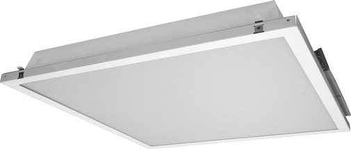 Nicor 2x2 Contractor Friendly Led Troffer With Emergency Backup, White/5000k.