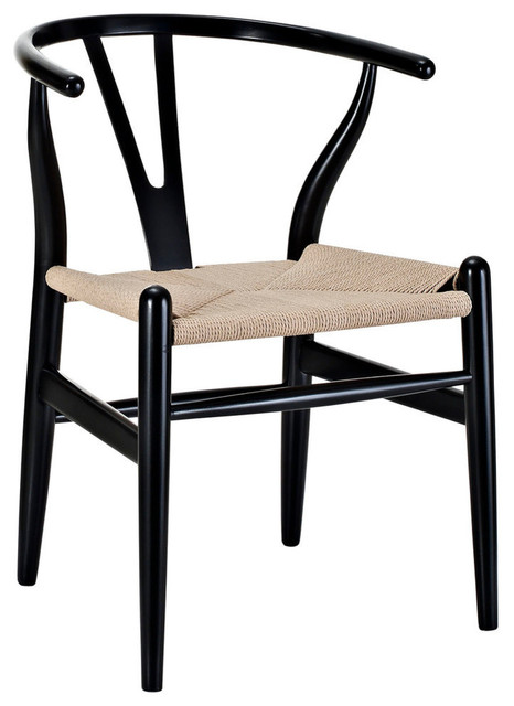 Modway Amish Dining Wood Armchair Eei-552-Blk.
