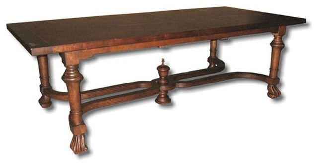 New Extension Table French Country Stretcher