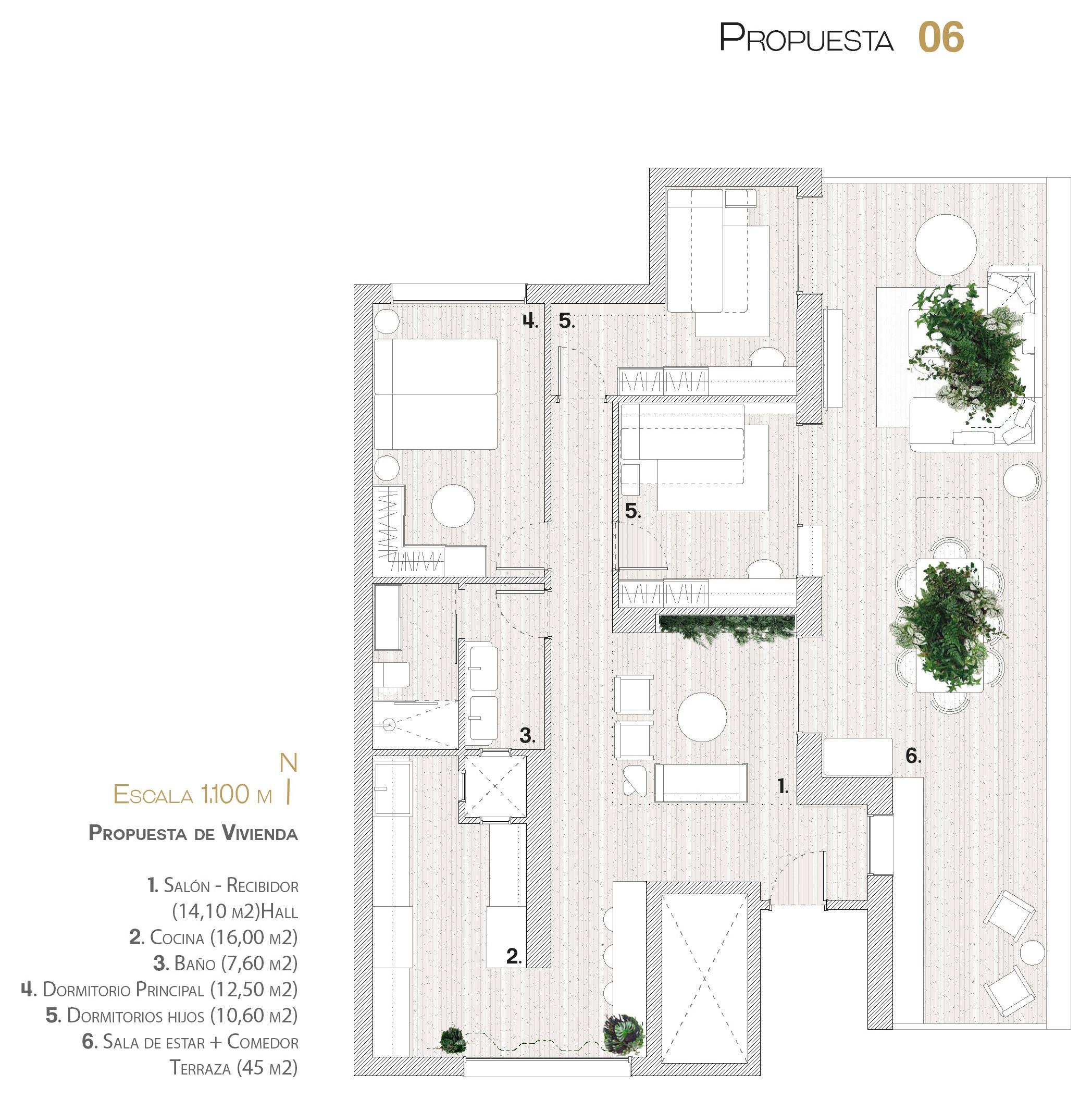 Propuesta de la vivienda