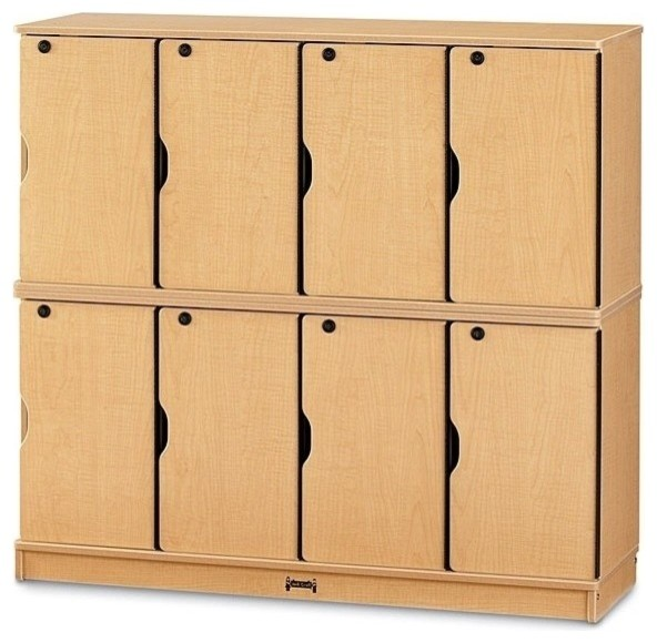Jonti-Craft - MapleWave Double Stack Lockers with Keys & Reviews | Houzz