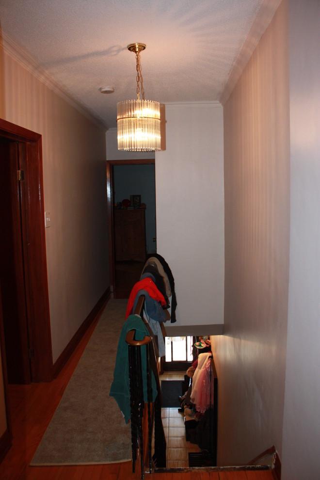 Second floor hallway - before