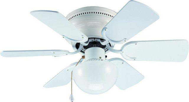 White 30 Arcadia Ceiling Fan.