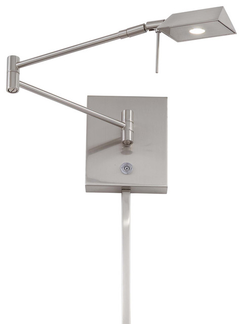 Contemporary Wall Lamps Swing Arms : George Kovacs P4318-077 1 Lt Led Swing Arm Wall Lamp - Contemporary - Swing Arm Wall Lamps - by ...