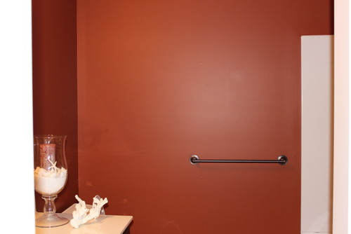 Burnt Orange Bathroom Accessories