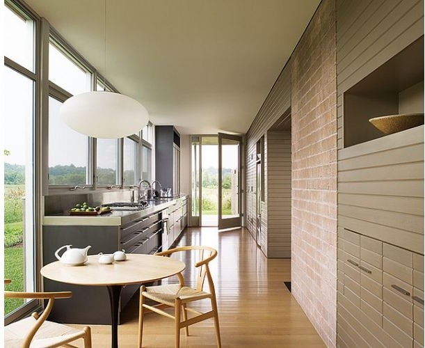 Hans Wegner Style Wishbone Chair Inspiration Room Midcentury