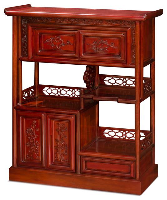 China Furniture and Arts - Rosewood Bookshelf Display Cabinet & Reviews   Houzz