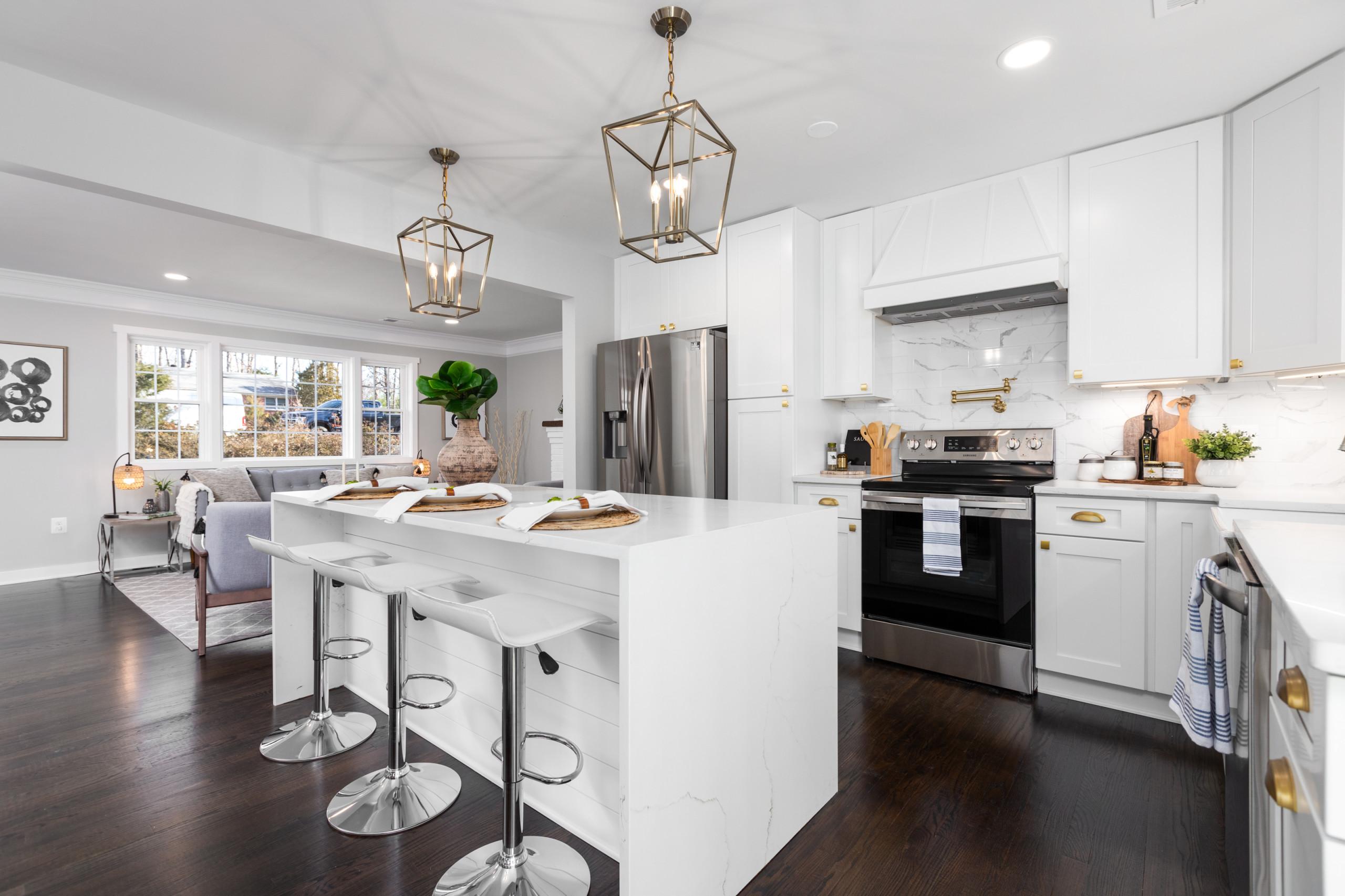 Stunning Kitchen Open Concept