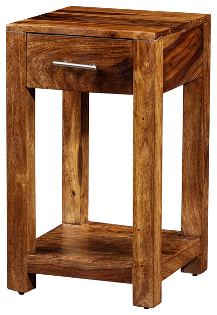 Nightstand Table: Andie Night Table Made Of Rosewood