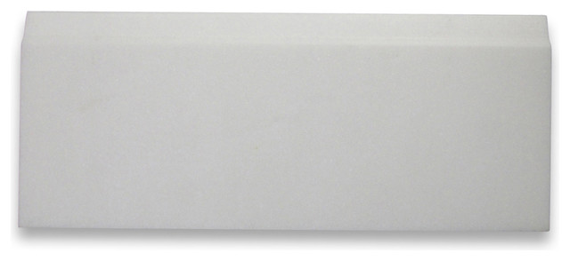 5 Quot X12 Quot Thassos White Baseboard Trim Molding Honed