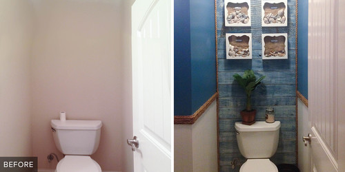 Reader Bathroom: A Splash of Nautical Style for $330 in Kentucky