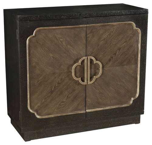 Traditional Accent Cabinet, Brown