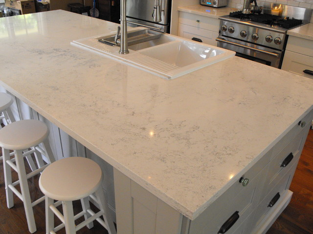 Carrera Quartz Countertops