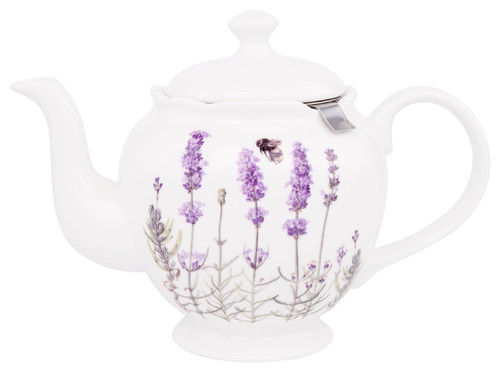 I Love Lavender Teapot With Infuser