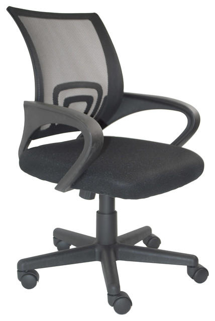 ALEKO ALCM813BL Ergonomic Office Chair, High Back Mesh Chair Contemporary  Office Chairs