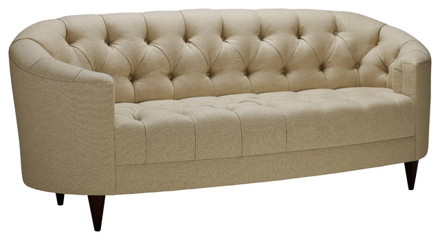 baker furniture sofa tufted oval sofa contemporary sofas by baker furniture 1450