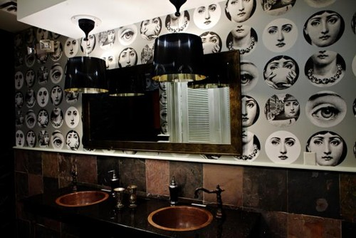 Hello Just Wondering How To Attain Fornasetti Face Wallpaper Thanks
