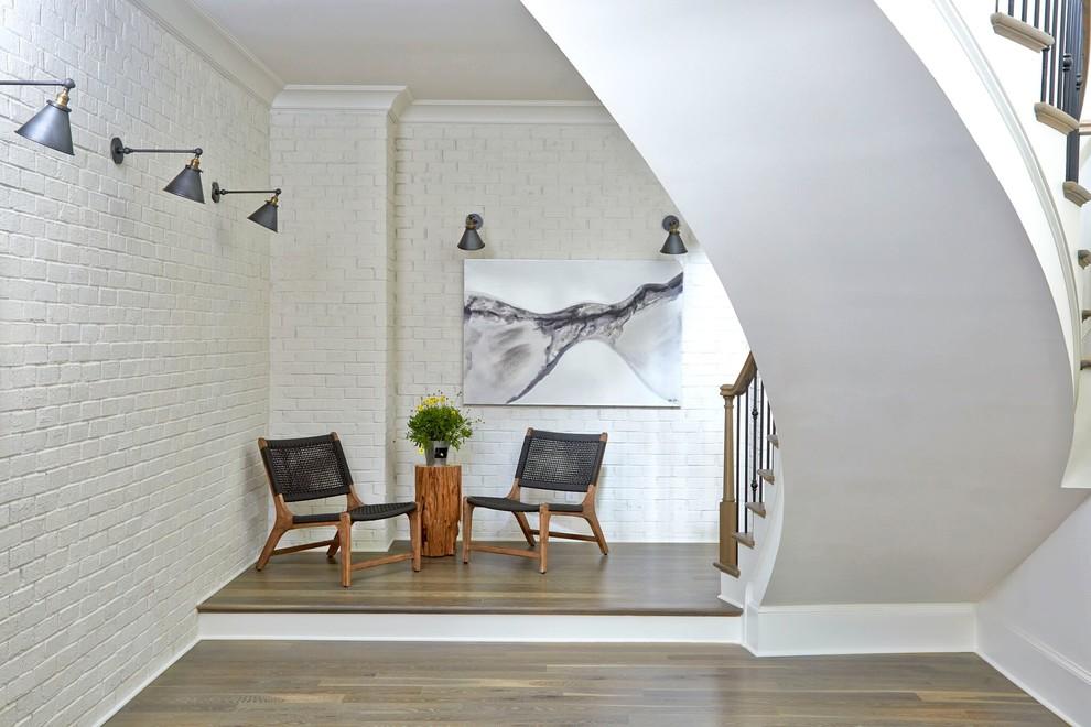 Inspiration for a huge industrial home design remodel in Atlanta