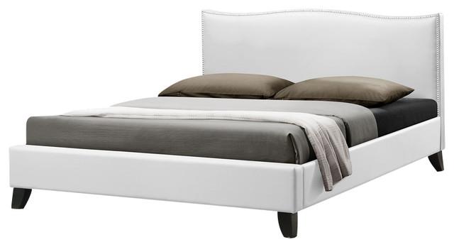 white upholstered headboard queen  headboard designs, Headboard designs