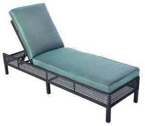 Hampton Bay Chaise Lounge Fenton Adjustable Patio Chaise Lounge