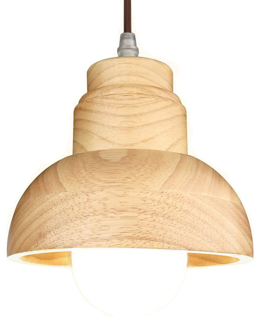 Wood Pendant Light Decorative Hanging Lamp Scandinavian Lighting By Golight Inc