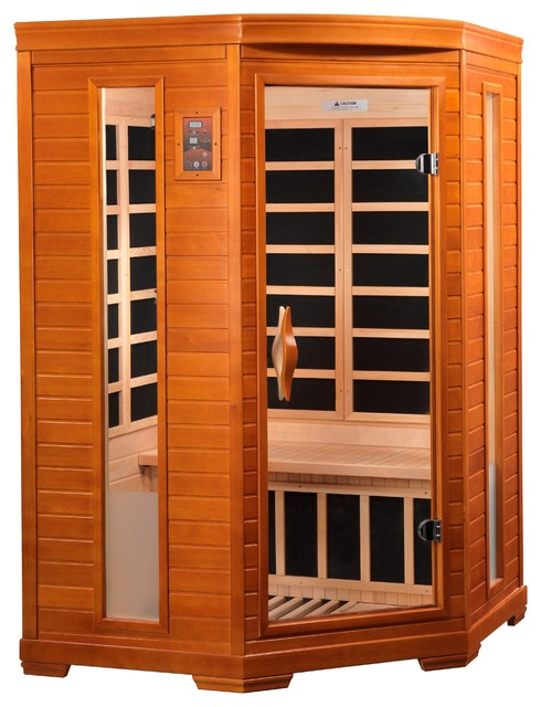 Dynamic 2 Person Low Emf Far Infrared Carbon Heater Sauna.