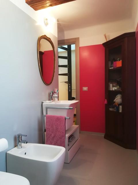 Ristrutturazione appartamento - San Bernardo contemporaneo-stanza-da-bagno
