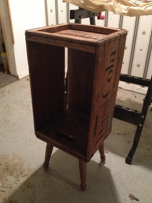 Top DIY Crate Nightstand KT29