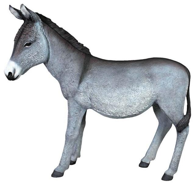 Beast Of Burden Donkey Statue