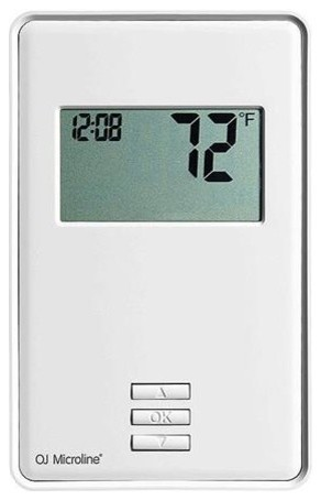 Warmlyyours UTN4-4999 Ntrust Non-Programmable Thermostat With Backlit Display