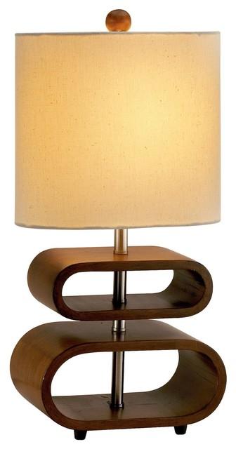 Rhythm Table Lamp, Natural.