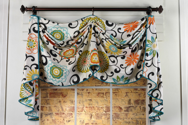 Valance Design Ideas full image for cool valance design idea 71 window valance design ideas cutest valances for living Catherine Valance Sewing Pattern Eclectic