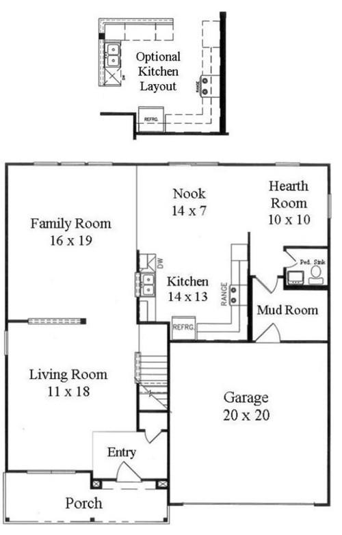 Long narrow family room dilemma