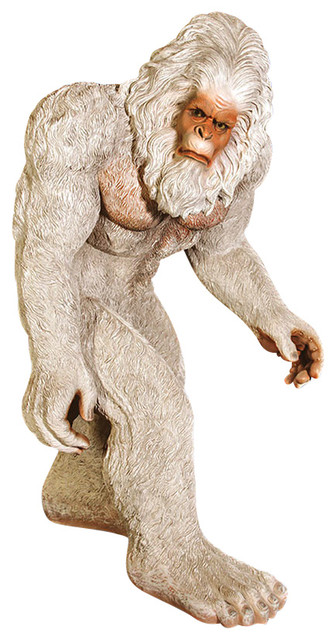 Design toscano abominable yeti snowman statue view in for Abominable snowman outdoor decoration