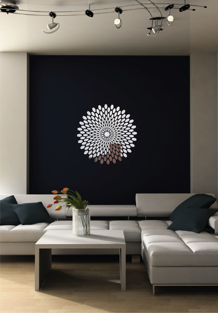 3D Reflective Chrome Wall Decal Contemporary Wall Decals by