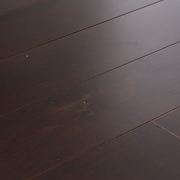 Maple Dark Port Click Engineered Hardwood Flooring Sample