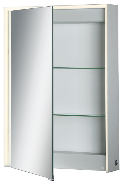 Eurofase Edge-Lit Led Mirror Single Door Cabinet.