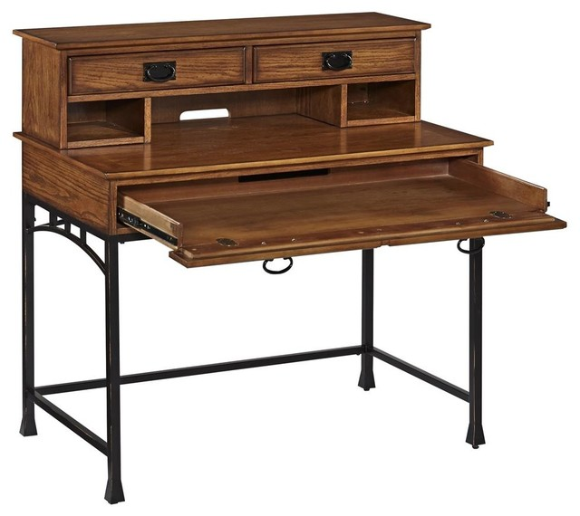 craftsman student desk with hutch desks and hutches by shopladder. Black Bedroom Furniture Sets. Home Design Ideas