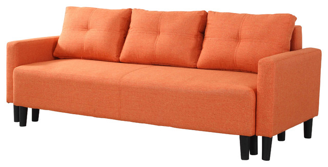 Charlotte Functional Convertible Sofa Bed Futon