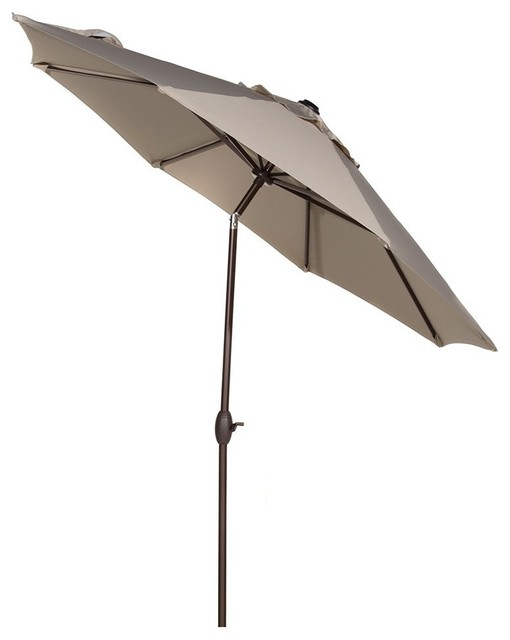 Patio Umbrella Crank Diagram: Abba Patio 9' Sunbrella, Auto Tilt And Crank