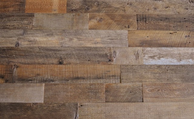 Reclaimed Wood Wall Paneling Brown 5 Wide 20 Sq Ft Traditional Panels By East Coast Rustic