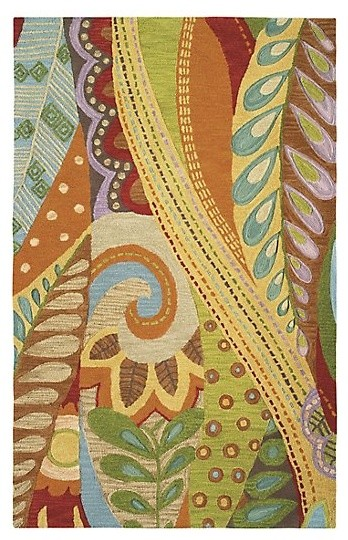 Art & Soul Wool Hand Tufted 9'x13' Rug, Multi
