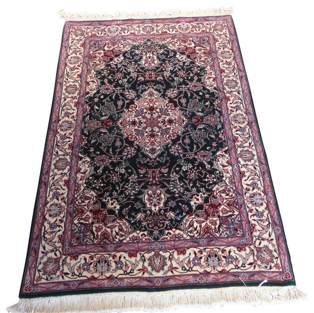 4x6 Kashan Rug Traditional Area Rugs By Oriental Rug