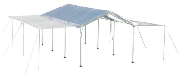 Max Ap Canopy 10u0027x20u0027 8-Leg White Cover  sc 1 st  Houzz & Max Ap Canopy 10u0027x20u0027 8-Leg White Cover Extension Kit ...