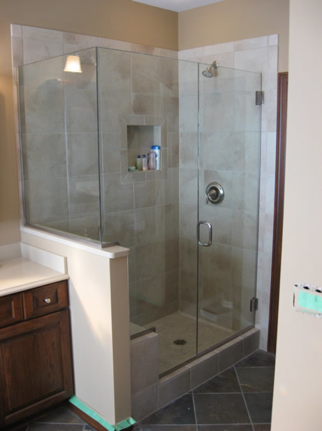 New Custom shower doors - Frameless vs. semi-frameless - Worth the cost??? KX03