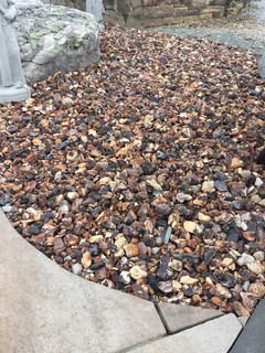 Timberlite decorative gravel charlotte by visions for Landscaping rocks charlotte nc