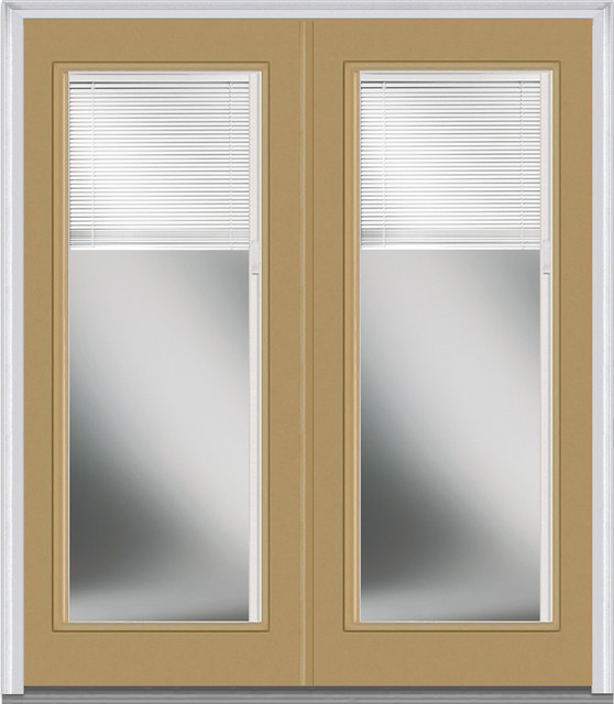Full View Exterior Door With Blinds Home Decor