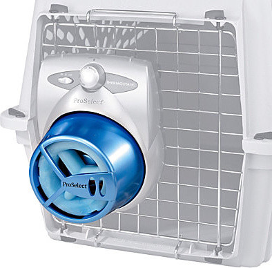 Dog Crate Fan Cooling System